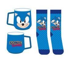 Sonic the Hedgehog Hrnek & Ponožky Set Sonic