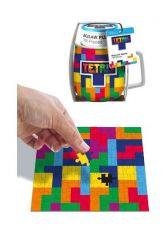 Tetris Hrnek & Jigsaw Puzzle Set Tetriminos