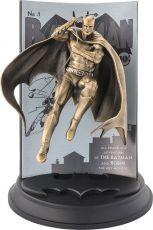 DC Comics Pewter Collectible Soška Batman #1 (Gilt) Limited Edition 22 cm