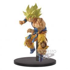 Dragonball Super Son Goku Fes PVC Soška Super Saiyan Son Goku 15 cm