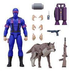 G.I. Joe Ultimates Akční Figure Snake Eyes [Real American Hero] 18 cm