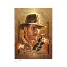 Indiana Jones Art Print Pursuit of the Ark 46 x 58 cm - unframed