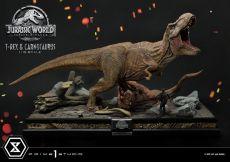Jurassic World: Fallen Kingdom Soška 1/15 T-Rex & Carnotaurus 90 cm