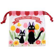 Kiki's Delivery Service Laundry Storage Bag Jiji & Kitten 20 x 19 cm