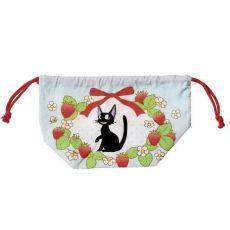Kiki's Delivery Service Laundry Storage Bag Jiji & strawberries 17 x 26 x 12 cm
