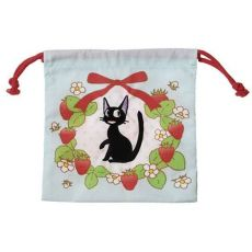 Kiki's Delivery Service Laundry Storage Bag Jiji & strawberries 20 x 19 cm