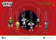 Looney Tunes Mini Egg Attack Přívěsky na klíče 4 cm Sada (6)