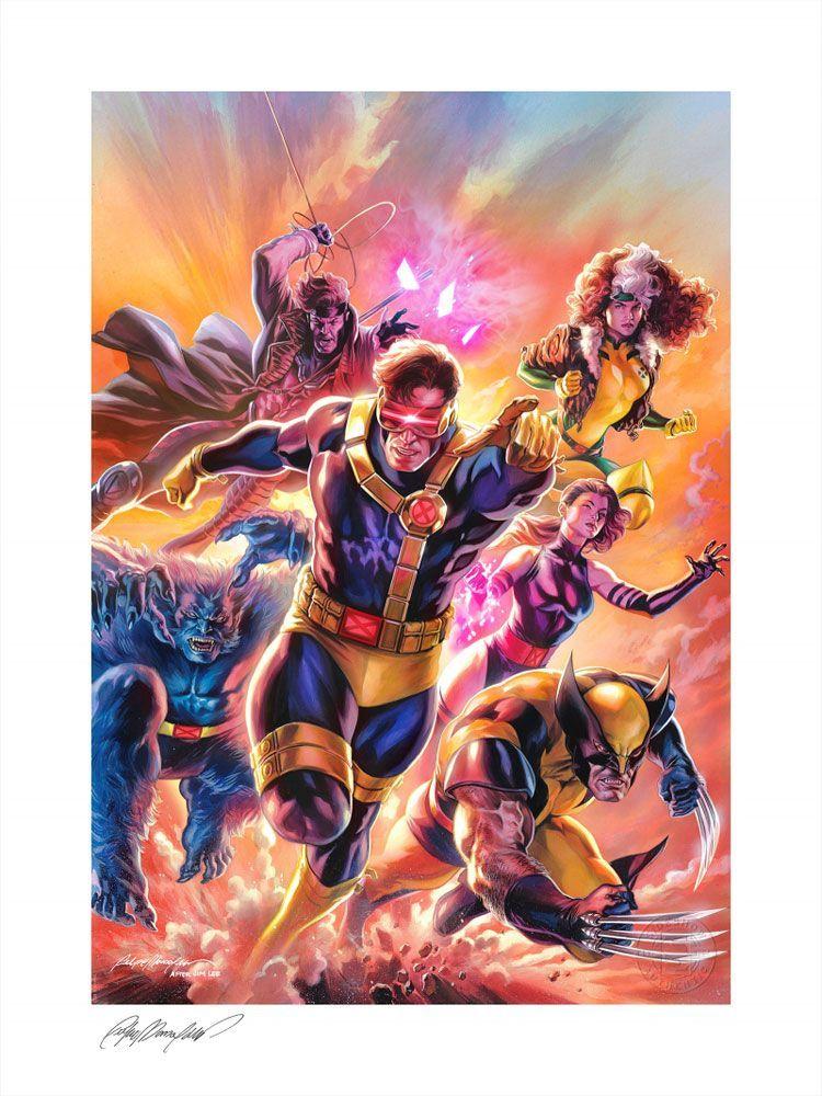 Marvel Comics Art Print X-Men: Children of the Atom 46 x 61 cm - unframed Sideshow Collectibles