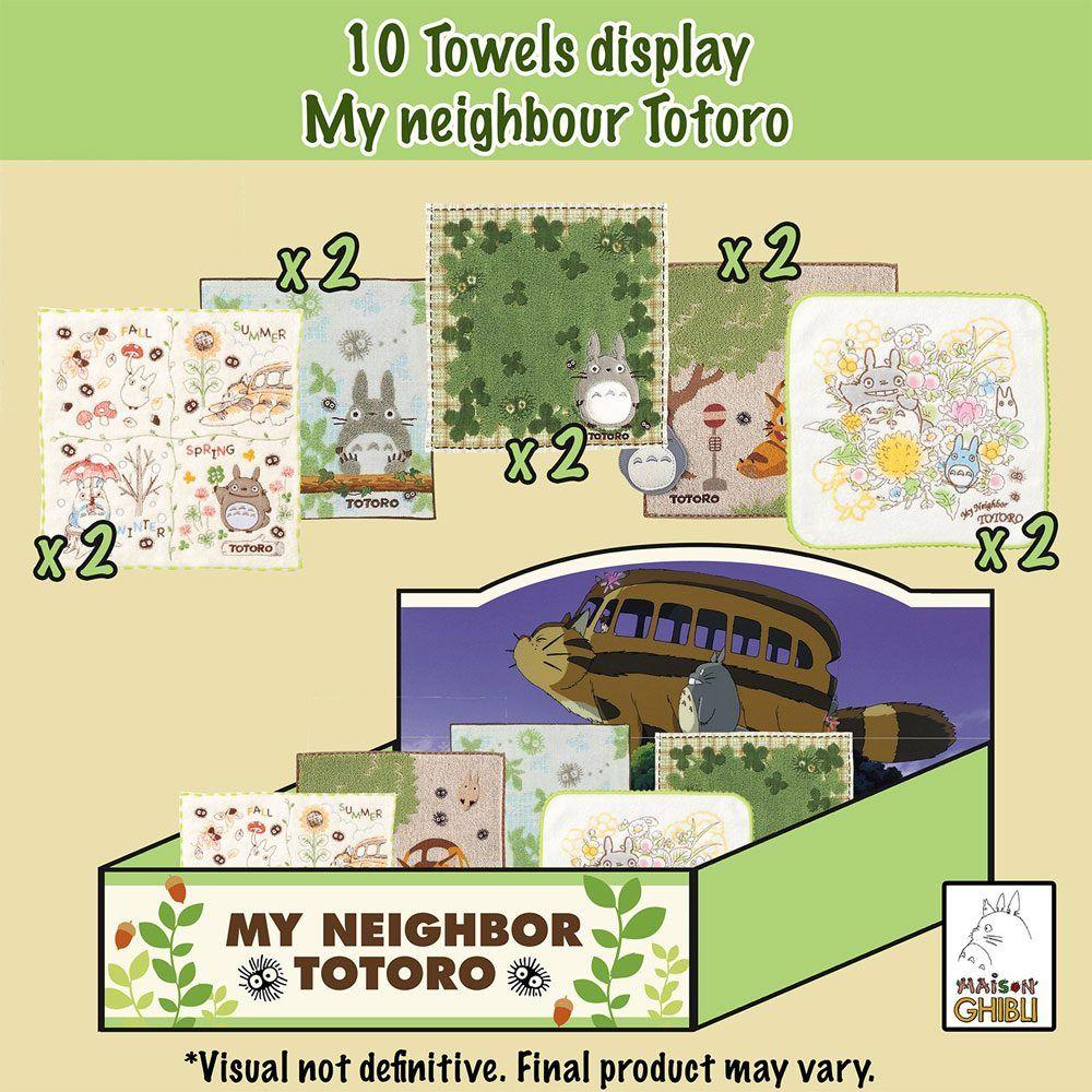 My Neighbor Totoro Mini Towels 25 x 25 cm Display (10) Marushin