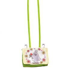 My Neighbor Totoro Pochette Bag Totoro with Flowers