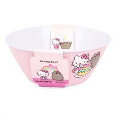 Pusheen Mixing Miska Hello Kitty