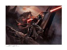 Star Wars Art Print Darth Maul: Savage Rage 46 x 61 cm - unframed