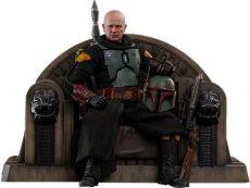 Star Wars The Mandalorian Akční Figure 1/6 Boba Fett (Repaint Armor) and Throne 30 cm