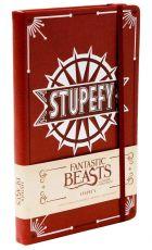 Fantastic Beasts Hardcover Ruled Deník Stupefy