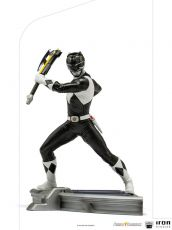 Power Rangers BDS Art Scale Soška 1/10 Black Ranger 17 cm