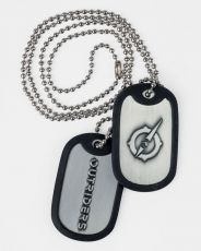 Outriders Dog Tags with ball chain Symbol