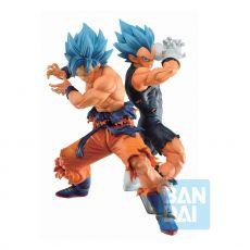 Dragon Ball Super Ichibansho PVC Sochy SSGSS Son Goku & SSGSS Vegeta (VS Omnibus Super) 20 - 21 cm