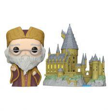 Harry Potter POP! Town vinylová Figure Dumbledore w/Hogwarts 9 cm