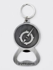 Outriders Metal Keychain Symbol