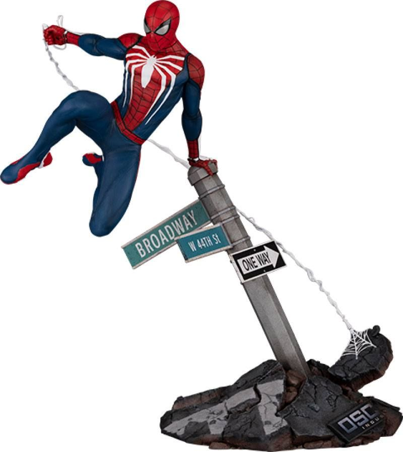 Marvel's Spider-Man Soška 1/6 Spider-Man: Advanced Suit 36 cm PCS