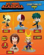 My Hero Academia Craftables Serie 2 PVC Dioramas 9 cm Display (12)