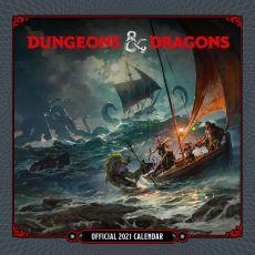 Dungeon & Dragons Kalendář 2021 Anglická Verze