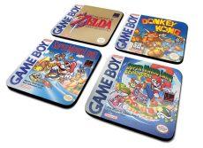 Gameboy Podtácky 4-Pack Classic Kolekce