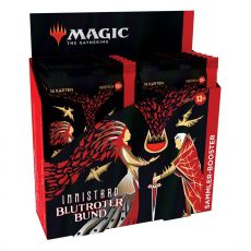 Magic the Gathering Innistrad: Blutroter Bund Collector Booster Display (12) Německá