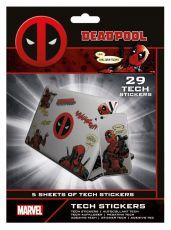 Marvel Tech Nálepka Pack Deadpool (10)