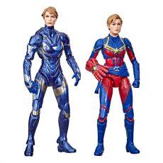 Avengers: Endgame Marvel Legends Akční Figure 2021 Captain Marvel & Rescue Armor 15 cm