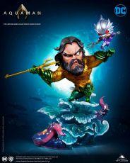 DC Cartoon Series Soška 1/3 Aquaman 20 cm