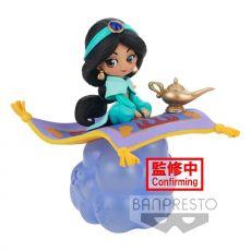 Disney Q Posket Stories Mini Figure Jasmine Ver. A 10 cm