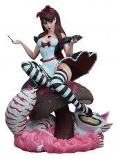 Fairytale Fantasies Kolekce Soška Alice in Wonderland Game of Hearts Edition 34 cm