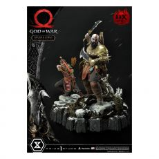 God of War Premium Masterline Series Soška Kratos and Atreus in the Valkyrie (Deluxe Version) 72 cm