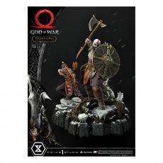 God of War Premium Masterline Series Soška Kratos and Atreus in the Valkyrie 72 cm