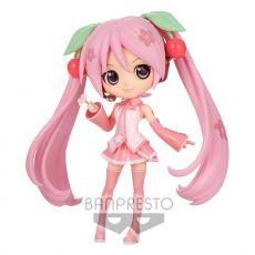 Hatsune Miku Q Posket Mini Figure Sakura Miku Ver. B 14 cm