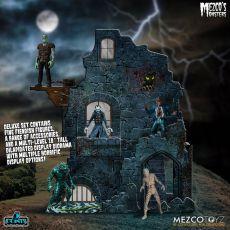 Mezco's Monsters 5 Points Akční Figures Tower of Fear Deluxe Set 9 cm
