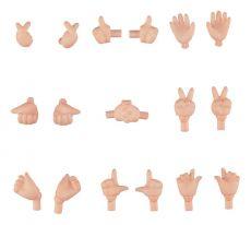 Original Character Parts for Nendoroid Doll Figures Hand Parts Set 02 (Peach)