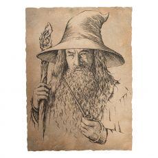 The Hobbit Art Print Portrait of Gandalf the Grey 21 x 28 cm