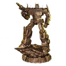 Transformers: G1 Soška Optimus Prime Antique Gold 58 cm