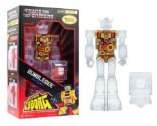 Transformers Super Cyborg Akční Figure Bumblebee (Clear) 28 cm