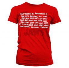 Dámské tričko Jaws Dant Dant