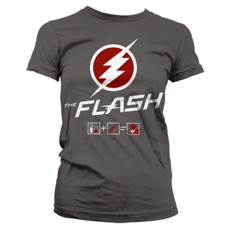 Dámské tričko s potiskem Flash Riddle Licenced