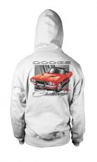 Dodge hoodie mikina Red Challenger Licenced