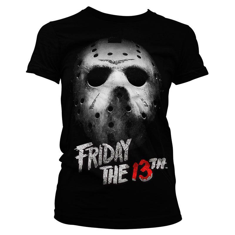 Friday The 13th Dámské tričko s potiskem Mask Licenced