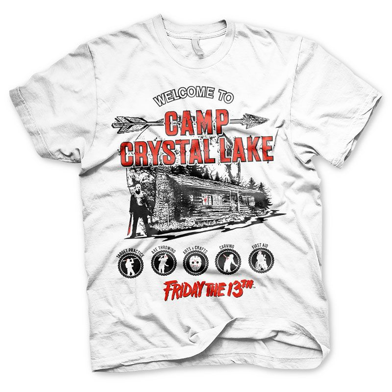 Friday The 13th pánské tričko s potiskem Camp Crystal Lake Licenced