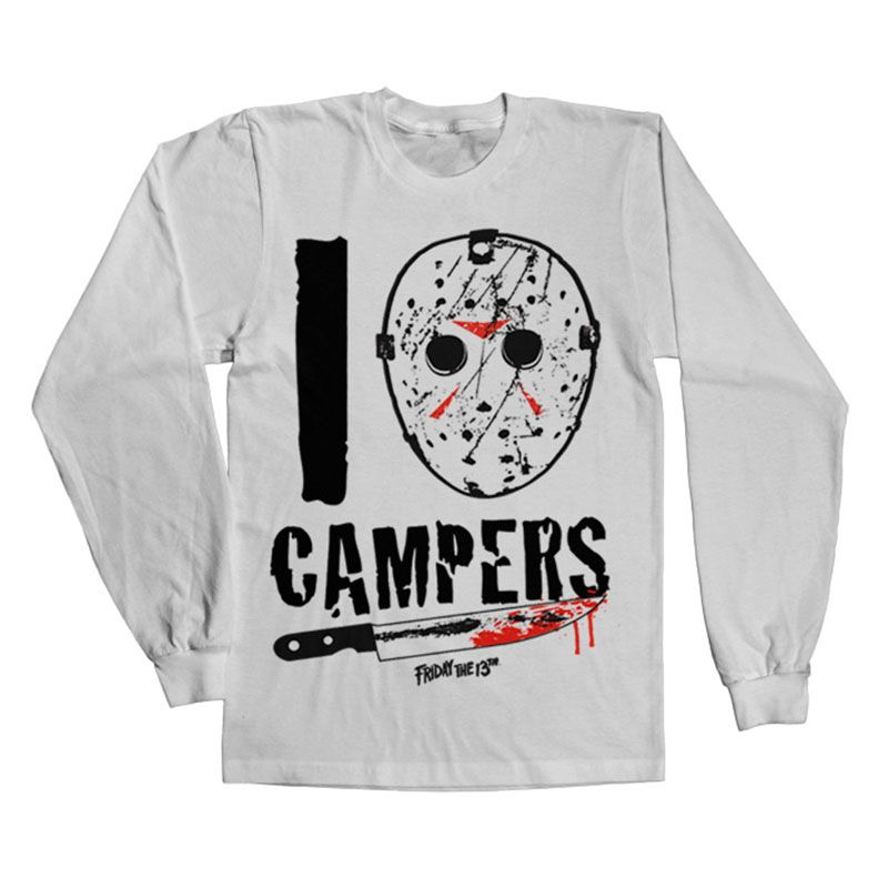 Friday The 13th tričko s dlouhým rukávem I Jason Campers Licenced