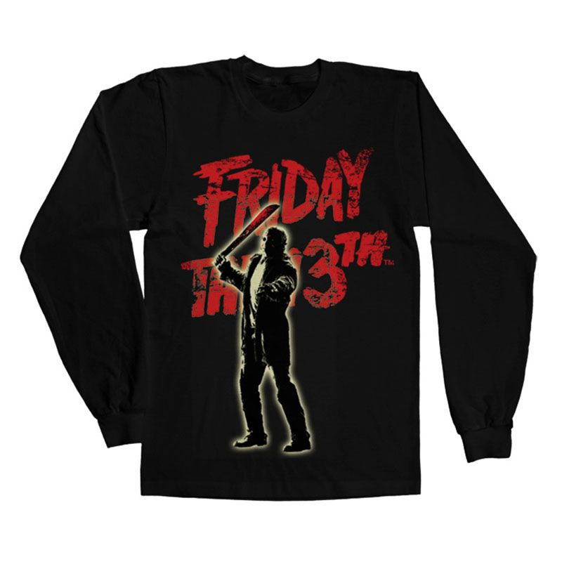 Friday The 13th tričko s dlouhým rukávem Jason Voorhees Licenced