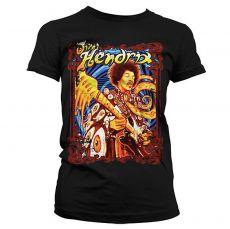 Dámské tričko Jimi Hendrix Colorful