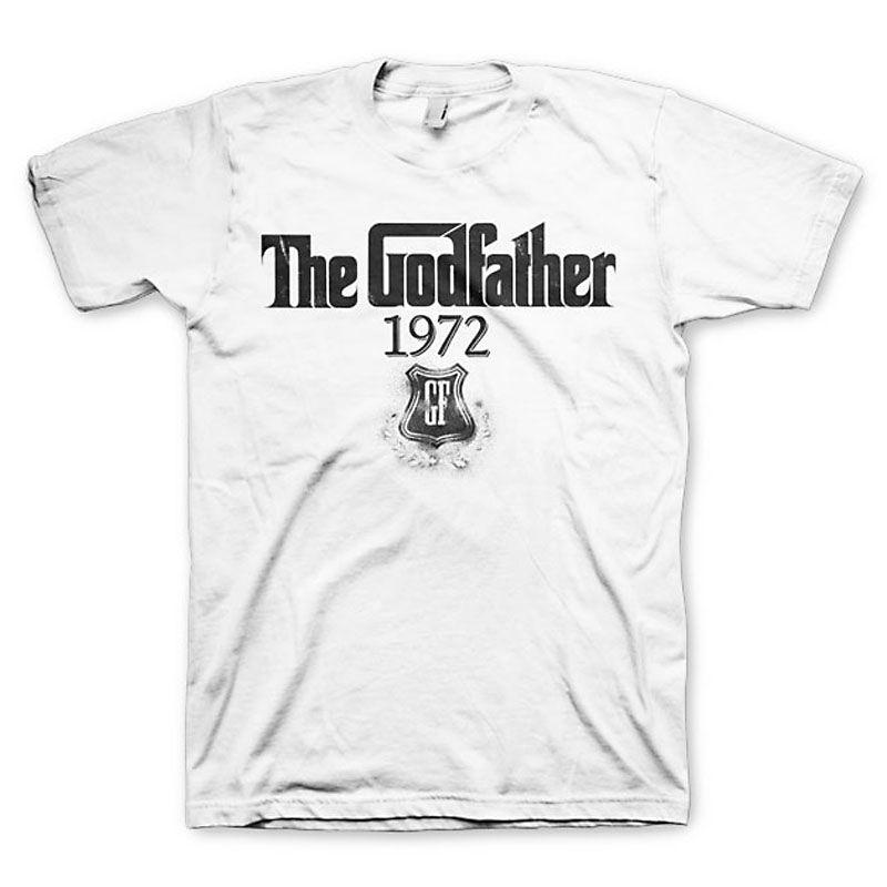 Kmotr bílé tričko s potiskem 1972 Licenced